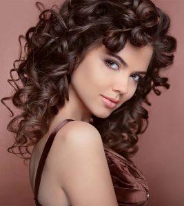 Como tener el cabello rizado y fortalecer el cabello